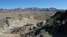 Northern Vertex Mining's Moss gold project in Arizona. Source: Northern Vertex Mining