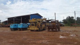 Equipment at Sandsping Resources' Toroparu gold project in Guyana. Source: Sandspring Resources