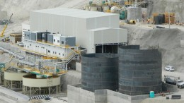 The processing plant at First Majestic Silver's Del Toro silver mine in Mexico. Source: First Majestic Silver