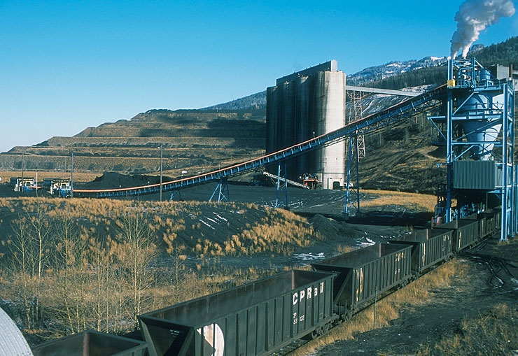 The coal loading facility at Teck's Elkview operation in southeastern British Columbia. Source: Teck Resources
