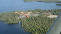 Mega Precious Metals' camp at the Monument Bay gold-tungsten project in northeastern Manitoba. Source: Mega Precious Metals
