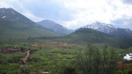 Looking east at the Osiris exploration camp at Atac Resources' Rackla gold project in the Yukon. Source: Atac Resources