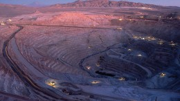 BHP Billiton's majority-owned Escondida copper mine in northern Chile's Atacama desert. Source: BHP Billiton