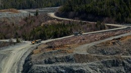 Anaconda Mining's Pine Cove open-pit gold mine in Newfoundland's Baie Verte Peninsula. Source: Anaconda Mining