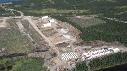 Strateco Resources' Matoush uranium project in Quebec's Otish Mountains, in 2010. Source: Strateco Resources.