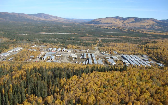 The exploration camp at International Tower Hill's Livengood project in Alaska. Source: International Tower Hill