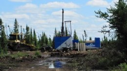 Eagle Hill's Windfall Lake project in Quebec. Source: Eagle Hill Exploration