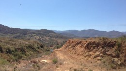 Looking south towards the Azteca area at the El Barqueo gold project in Jalisco, Mexico. Source: Cayden Resources