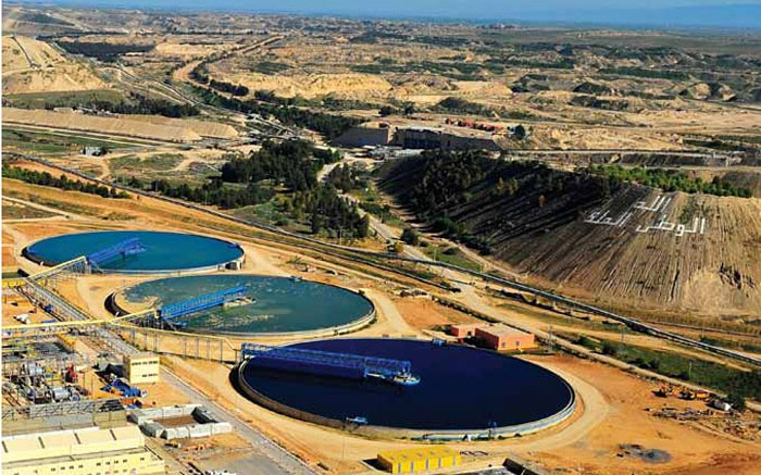 Moroccan state-owned phosphate producer Office Chrifien des Phosphates' Merah-Lahrach washing plant near Khouribga, Morocco. Source: OCP