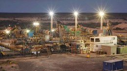 The processing facilities at the Saxendrift mine in South Africa's Northern Cape province. Source: Rockwell Diamonds