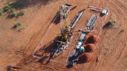 A drill rig at Platinum Group Metals' Waterberg project in South Africa. Source: Platinum Group Metals
