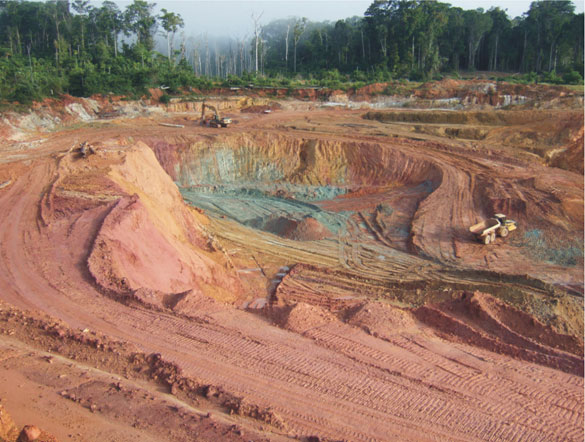 Sandspring Resources' Toroparu gold project in Guyana. Credit: Sandspring Resources