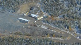 An aerial view of the Lucky Queen silver project, currently under development by Alexco Resource in the Yukon. Credit: Alexco Resource