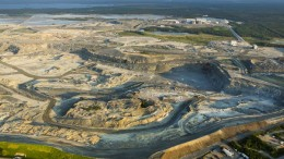 An aerial view of Osisko's Canadian Malartic mine. Credit: Osisko Mining