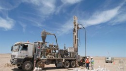 Resource drilling at Paladin Energy's Langer Heinrich project. Credit: Paladin Energy