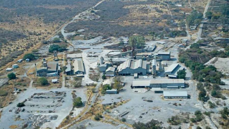 The past-producing Kombat copper mine in northern Namibia. Credit: Kombat Copper