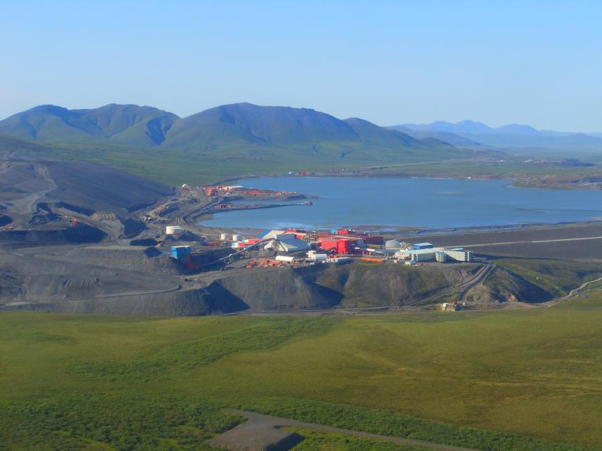 Teck Resources' Red Dog high-grade zinc mine in Alaska. Credit: Teck Resources