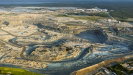 Osisko Mining's Canadian Malartic gold mine in Quebec produced about 475,000 oz. gold in 2013. Credit: Osisko Mining