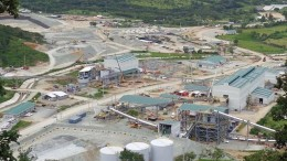 An aerial view of Tahoe Resources' Escobal silver project in southeastern Guatemala. Credit: Tahoe Resources