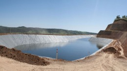 A raw water pond at MBAC Fertilizer's  Itafos Arraias project in Brazil. Credit: MBAC Fertilizer