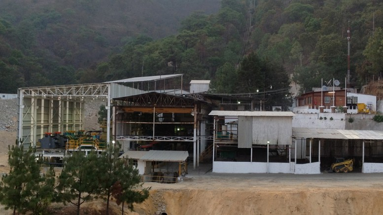 The mill at First Majestic Silver's La Guitarra project, which it acquired from Silvermex Resources in 2012.