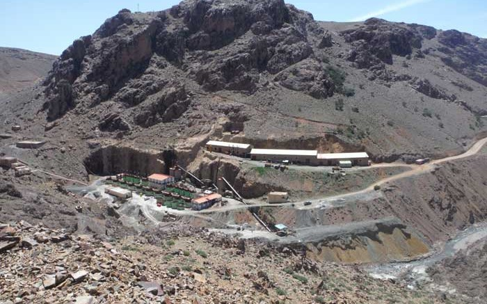 The historic Zgounder silver mine in Morocco. Credit: Maya Gold & Silver