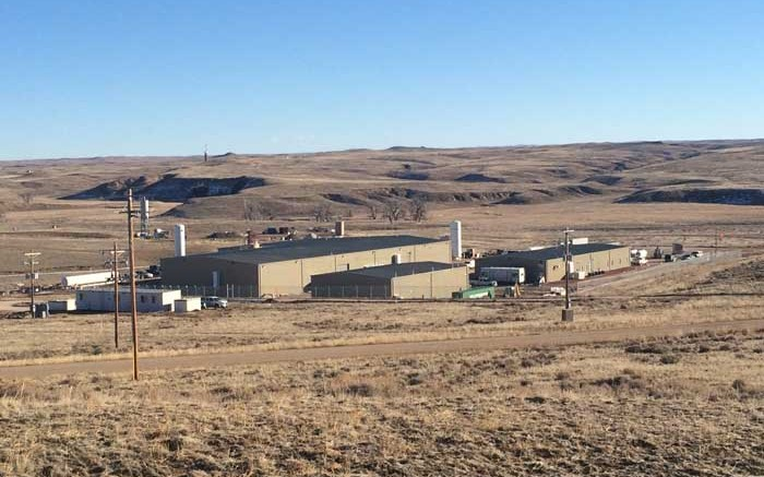 Facilities at Uranerz Energy's Nichols Ranch uranium mine in Wyoming.   Credit: Uranerz Energy