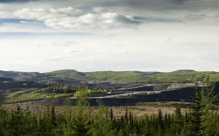 Walter Energy's Brule metallurgical coal mine in northeast British Columbia, which will be shut down in July. Credit: Walter Energy