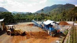 The upgrade plant at Anfield Nickel's  Mayaniquel nickel project in Guatemala. Credit: Anfield Nickel