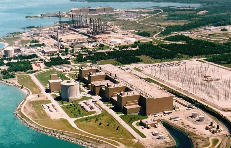 Bruce Power is Ontario's largest independent generator of electricity. Credit: Candu Owners Group