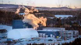 Orbite Aluminae's high-purity alumina plant in Cap-Chat, Quebec, which is expected to hit commercial production next year. Credit: Orbite Aluminae