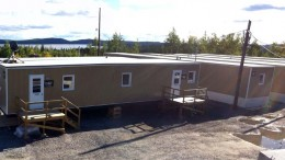 The camp at Arianne Phosphate's Lac  Paul phosphate project in Quebec. Credit: Arianne Phosphate