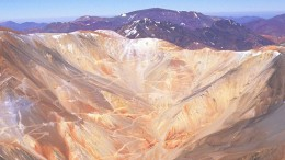 Barrick Gold's Pascua Lama project in Chile. Credit: Barrick Gold