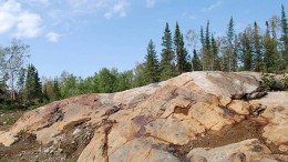 Probe Mines'  Borden gold project, located on the outskirts of Chapleau, west of Timmins, Ont. Credit: Probe Mines