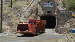 A portal at Golden Minerals' past-producing Velardena silver-gold mine in Mexico's Durango state. Credit: Golden Minerals