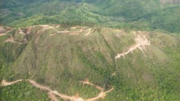 Pershimco Resources' Cerro Quema gold project in southern Panama. Credit: Pershimco Resources