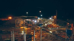 Processing facilities at Rockwell Diamonds' 74%-owned Niewejaarskraal diamond mine on the south bank of the Orange River in South Africa's Northern Cape province. Credit: Rockwell Diamonds