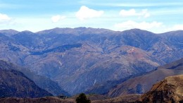 The view from Panoro Minerals' Cotabambas copper project in Peru, 50 km southwest of Cuzco. Credit: Panoro Minerals