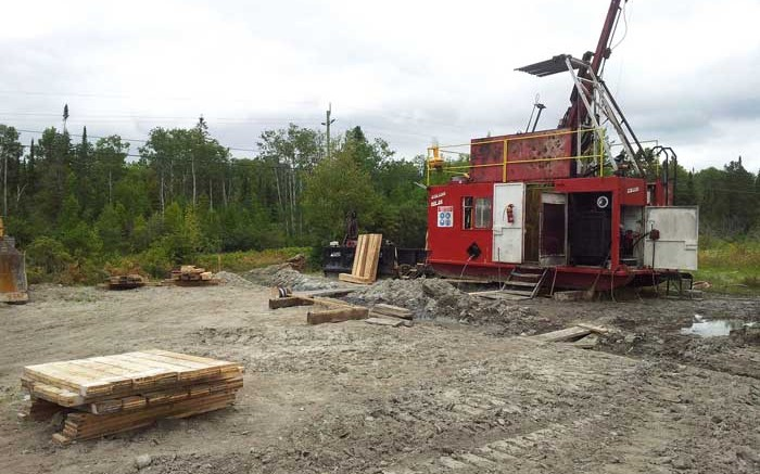 A drill site near Kirkland Lake Gold's Macassa gold mine in northern Ontario. Credit: Kirkland Lake Gold