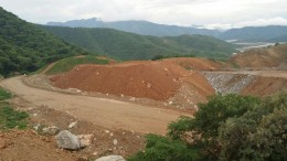 A stockpile of ore from Torex Gold's Guajes gold mine in Mexico's Guerrero gold belt. Credit: Torex Gold