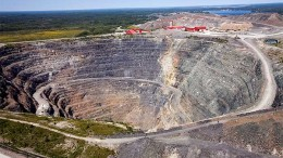 The Hollinger open-pit mine, a part of Goldcorp's Porcupine mining complex in Timmins. Credit: Goldcorp