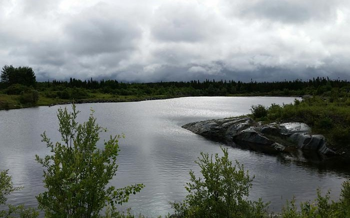 Monarques Resources' past-producing Croinor gold project, 70 km east of Val-d'Or, Quebec. Credit: Monarques Resources