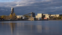 The processing plant of the Niobec mine in Quebec. Credit: Iamgold