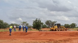 True Gold Mining's Karma gold mine under construction in Burkina Faso, where the company expects to pour gold in late 2015.  Credit: True Gold Mining