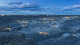 Agnico Eagle Mines and Yamana Gold's Canadian Malartic gold mine in Quebec. Osisko Gold Royalties holds a 5% net smelter return royalty on the mine. Credit: Agnico Eagle Mines