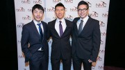 The 2014 National Mining Competition's winning team of engineering undergraduates from the University of Waterloo, from left: Andrew Jiang, Marco Chan, Seung-Youn Lee and Vincent Zhu (not pictured). Credit: National Mining Competition