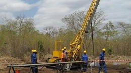Drillers at IMX Resources' Ntaka Hill nickel project in southeastern Tanzania. Credit: IMX