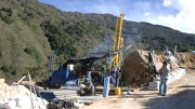 Drillers at Ventana Gold's La Bodega gold project in northern Colombia. Credit: Ventana Gold