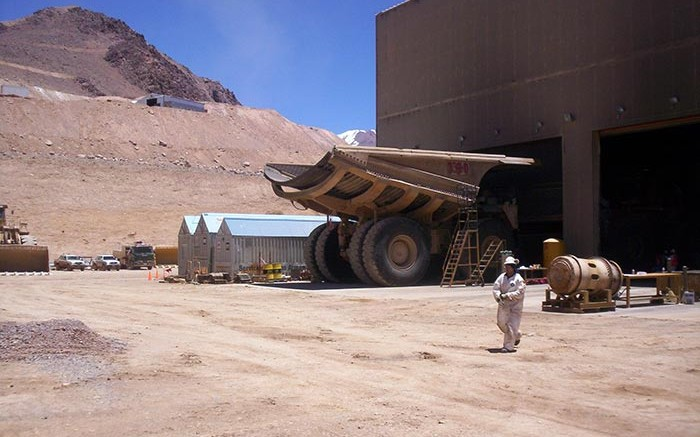 Facilities at Barrick Gold's Veladero gold mine in Argentina, where Silver Wheaton has a silver streaming deal.  Credit: Photo by Antonio Gritta