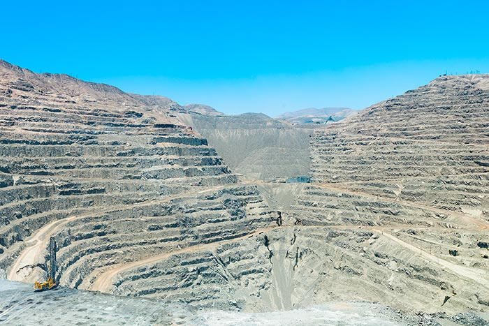 Lundin Mining's 80%-owned Candelaria copper-gold-silver mine in Chile. Last October Franco-Nevada agreed to purchase gold and silver streams from the mine for US$648 million. Credit: Lundin Mining